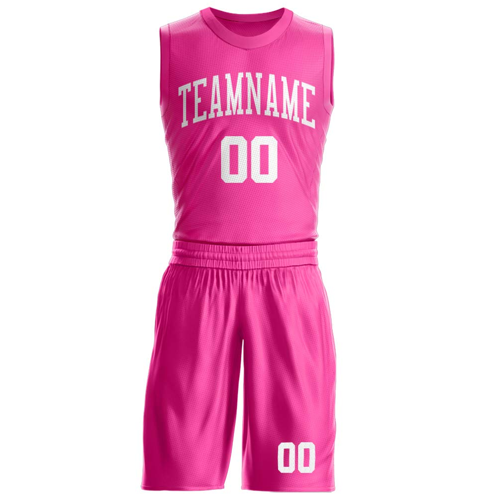 Ballscity Custom Basketball Jersey Set for Men Mesh T-Shirt and Shorts Design The Team/Name/Number by Yourself
