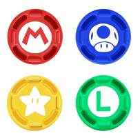 4Pcs Silicone Joystick Thumb Stick Grip Cover for Nintendo Switch Joy-Con Controller/Switch Lite Limited Edition