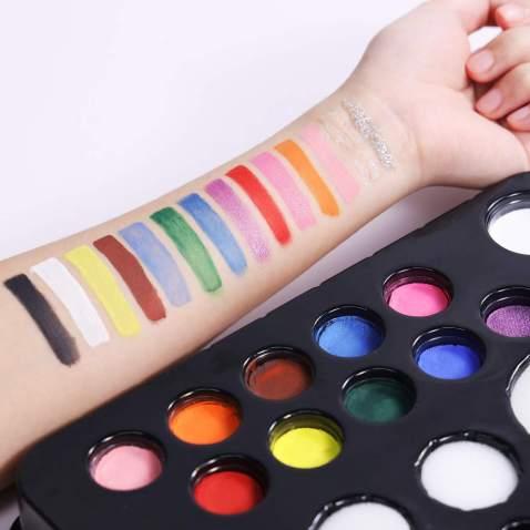 Body Makeup Glitter Gels