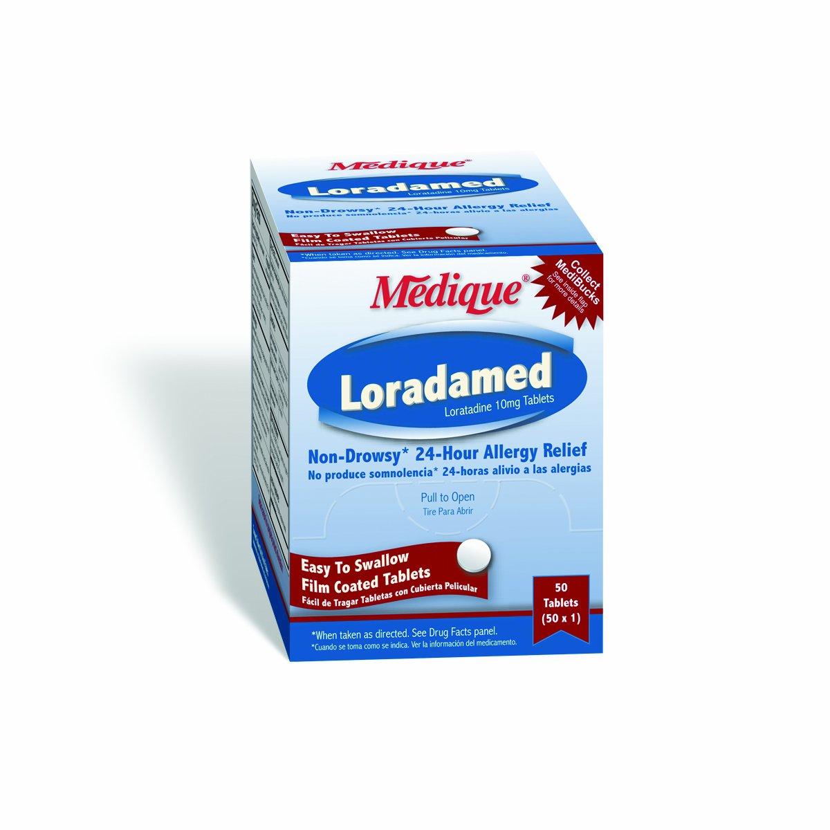 Medique 20350 Loradamed, 50 Tablets