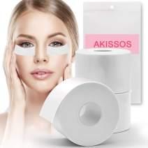"Lash Tape Eyelash Extension Supplies - Akissos 3 Rolls Medical Lash Foam Tape Elastic Tapes Eyelash Pads Under Eye Patches Lint Free Hypoallergenic No Latex - 2"" X 5.5 Yard"