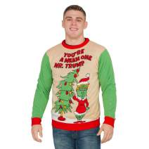 You're a Mean One Mr. Trump Grinch Adult Ugly Christmas Sweater
