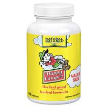 Natural Balance Happy Camper | Feel-Good Mood Support and Relaxation Supplement with Kava Kava (150 Count)