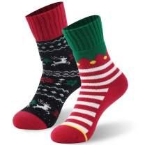Cartoon Holiday Funny Fancy Cute Gift Crazy Novelty Pattern Classic Crew Socks
