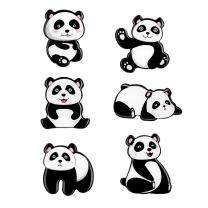 Cute Panda Magnets, Fridge for Refrigerator Magnets Funny Decoration for Kitchen Offices Lockers Menu Message Board Holiday Gifts for Kids Toddlers