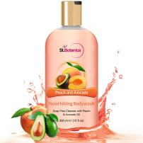 StBotanica Peach and Avocado Nourishing Luxury Body Wash - Peach & Avocado Oils Body Wash - 300 ml