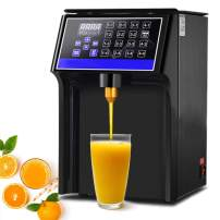 YJINGRUI Automatic Fructose Dispenser Machine Stainless steel Syrup Dispenser Machine Copper Syrup Output for Drink 8L (16Group 400W 110V)