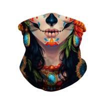 Unisex Printed Face Bandana Balaclava Headwrap Head Wraps