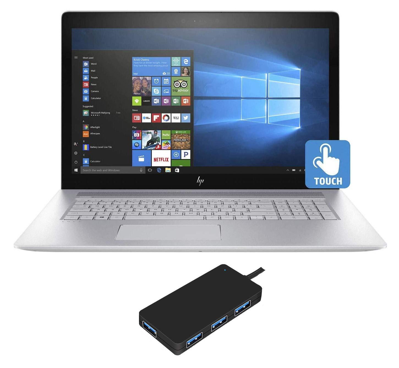 "HP Envy - 17t Home and Business Laptop (Intel i7-10510U 4-Core, 16GB RAM, 256GB SATA SSD, 17.3"" Touch Full HD (1920x1080), GeForce MX250, Fingerprint, WiFi, Bluetooth, Webcam, Win 10 Home)"