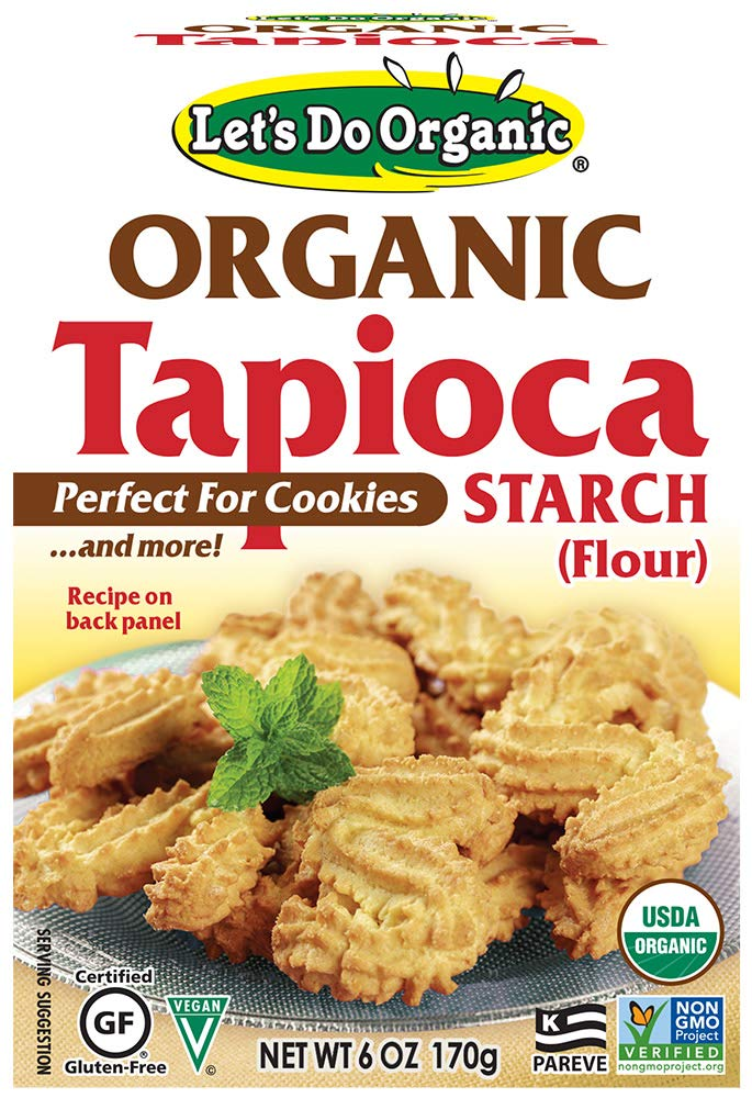 Let's Do...Organic Organic Tapioca Starch, 6 Ounce Boxes (Pack of 6)