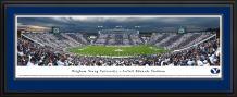 Brigham Young Football - Stripe-The-Stadium Homecoming Game at La Vell Edwards Stadium - Blakeway Panoramas Print