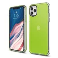 elago iPhone 11 Pro Max Clear Hybrid Case [Neon Yellow]