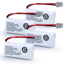 BAOBIAN Model BT-1021 BBTG0798001 Cordles Phone Battery Compatible with Uniden BT1021 BT-1025 BT-1008 BT-1016 Empire CPH-515B Cordless Handset Rechargeable 2.4V 300mAh(Pack of 4)