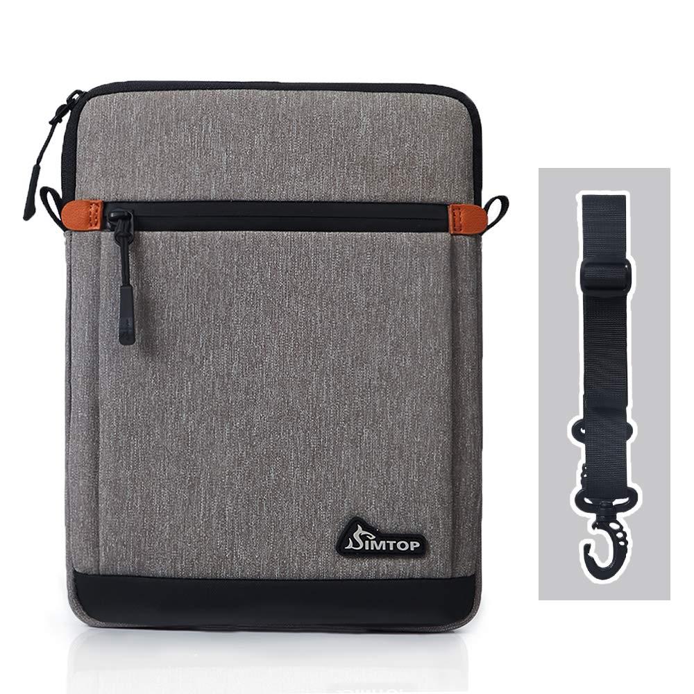 10.5 Inch Tablet Sleeve, SIMTOP Tablet Case Bag Compatible with 2019 New 10.2'' iPad 7/10.5'' iPad Air 3/10.5'' iPad Pro / 11'' iPad Pro / 9.7'' iPad / 10'' Surface Go / 10'' Galaxy Tab