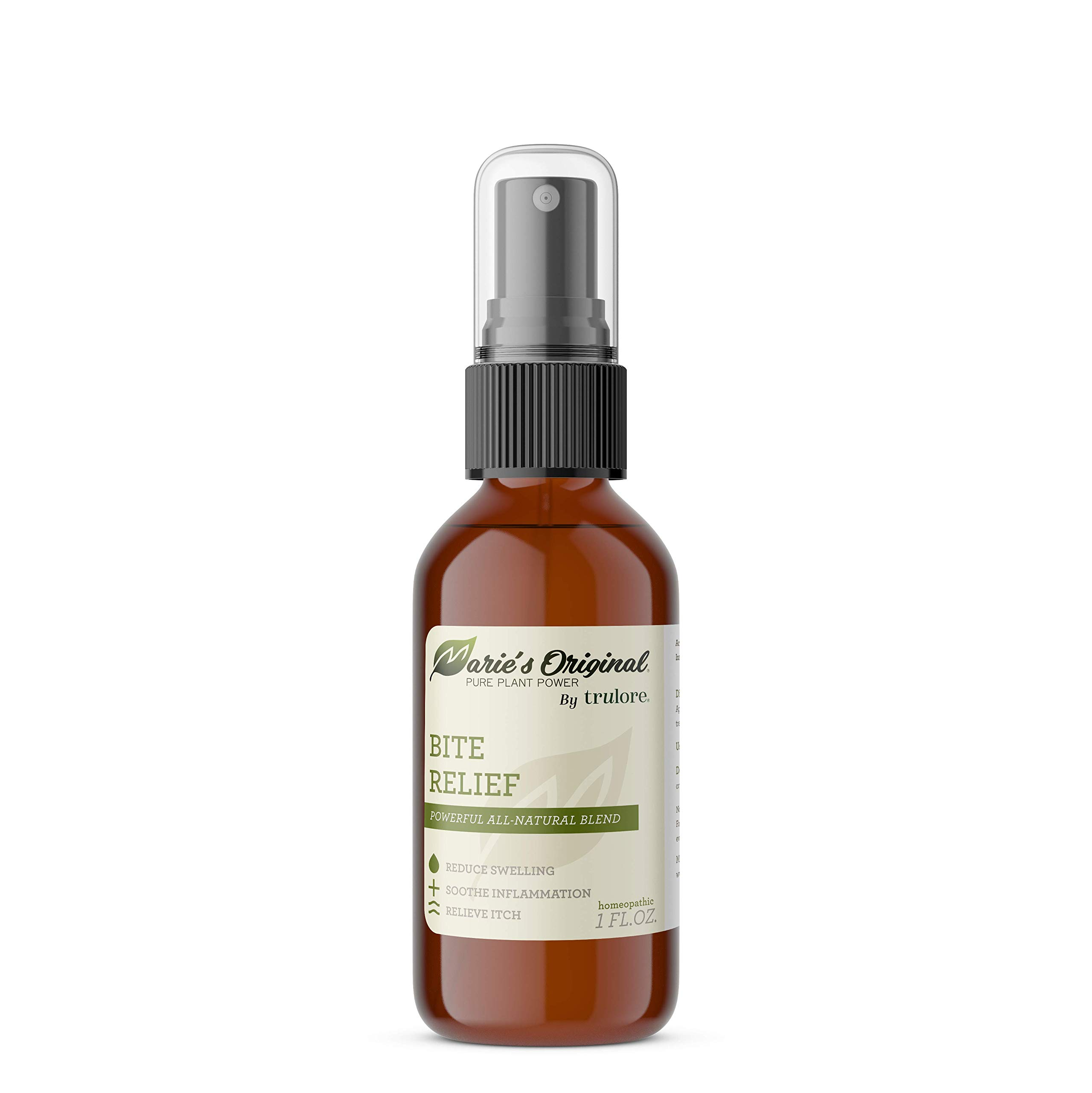 Marie's Original Bug Bite Itch Relief Spray - All Natural Insect Bite Relief. Relieves Itching, Swelling, and Irritation. After Mosquito Bite Relief, Bee Sting