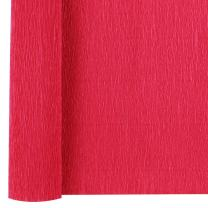 Just Artifacts 70g Premium Crepe Paper Roll, 20in Width, 8ft Length, Color: Red