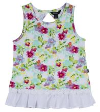 Nautica Girls' Sleeveless Fashion Tank Top Shirt