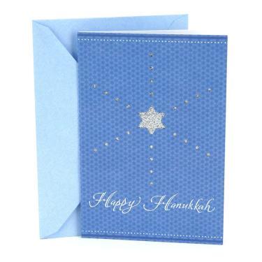10 Cards Hallmark Handmade Christmas Card Pack /'Sparkling Moments/' 2 Designs