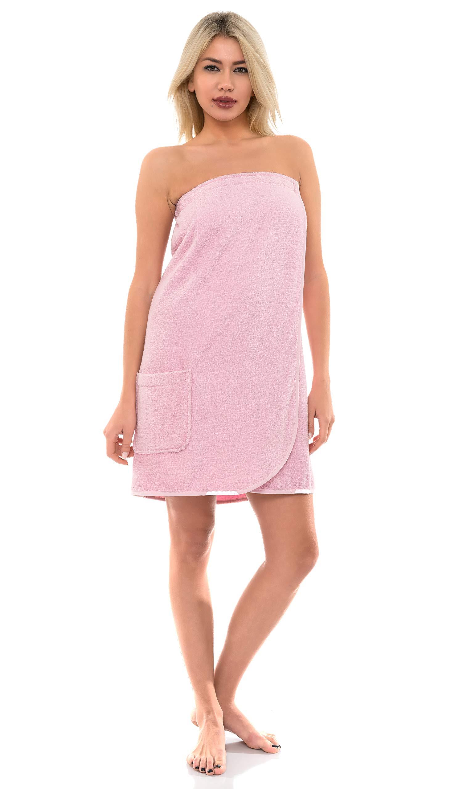 TowelSelections Women's Wrap, Shower & Bath, Terry Spa Towel
