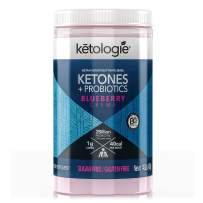 Ketologie BHB Exogenous Ketones Powder with Probiotics (Blueberry Creme)