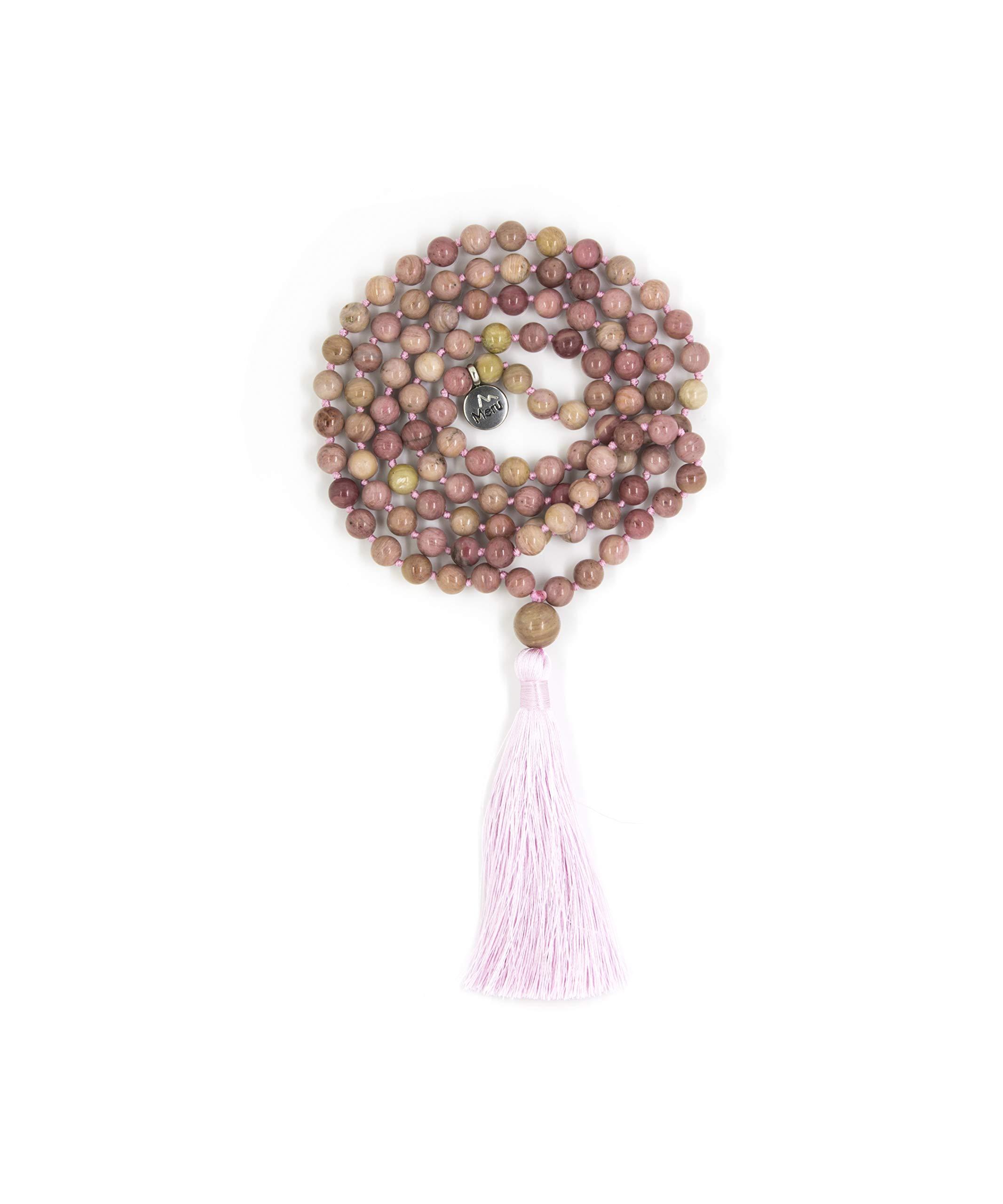 Premium Mala Beads Necklace - Mala Necklace - Japa Mala - Japa Neklace - Tassel Necklace - 108 Mala Beads Meditation