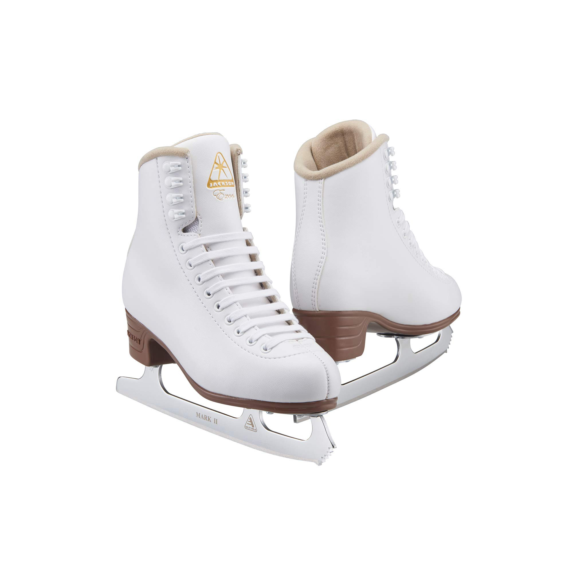 JACKSON ULTIMA Women's/Misses/Tot's Excel Vinyl Upper Lace Up Light Support Figure Ice Skates
