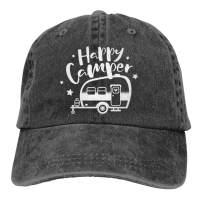 Waldeal Toddler Boy Girl Printing Happy Camping Hat Adjustable Kids Baseball Cap for 3-12 Years