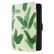GOLINK Case for All-New Kindle Paperwhite(Fits All Versions: 2012, 2013, 2014 and 2015) - Slim and Light Weight Shell Cover with Auto Wake/Sleep for Amazon All-New Kindle Paperwhite-Banana Leaves