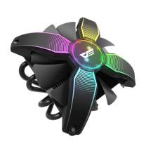 darkFlash Talon CPU Cooling Cooler LED RGB PWM Fan with Four Heatpipes for Intel : LGA 775/ 115x/ 1366 and AMD : AM4/ AM3 (Corei3/ i5)