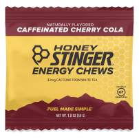 Honey Stinger Organic Energy Chews, Cherry Cola, Naturally Caffeinated, Sports Nutrition, 1.8 Ounce (Pack of 12)