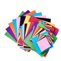 """KISSITTY 4-Size Colorful Square Tissue Paper Kits (2"""" 3"""" 4.72"""" 5.9"""") for Wedding Birthday Party Outdoor Decoration Mixed Color About 1600pcs/set"""