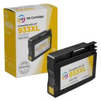 LD Remanufactured Ink Cartridge Replacement for HP 933XL CN056AN High Yield (Yellow)