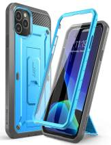 SUPCASE Unicorn Beetle Pro Series Case Designed for iPhone 11 Pro 5.8 Inch (2019 Release), Built-in Screen Protector Full-Body Rugged Holster Case (Blue)