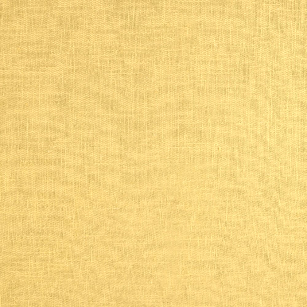 Noveltex Fabrics European 100% Washed Linen Fabric, Butter