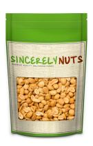 Sincerely Nuts – Blanched Peanuts Roasted and Salted | Two Lb. | Deluxe Kosher Snack Food | Healthy Source of Protein, Vitamin & Mineral Nutritional Content | Gourmet Quality Nut