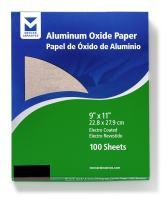 "Mercer Industries 202220A Grit 220 A-Weight 9"" x 11"" Aluminum Oxide Paper Sheets (100-Pack)"