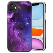 Caka Marble Case for iPhone 11 Marble Case Starry Pattern for Girls Women Protective Shockproof Slim Anti Scratch Luxury Fashion Soft Rubber TPU Marble Case for iPhone 11 (2019)(Starry)