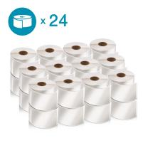DYMO Authentic LabelWriter Standard Shipping Labels for LabelWriter Label Printers, White, 2-1/8'' x 4'' (30323), 24 Rolls of 220