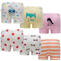 Skhls Baby Girls Cute Briefs Panties Boxers Cotton Underwear,Multi Pack