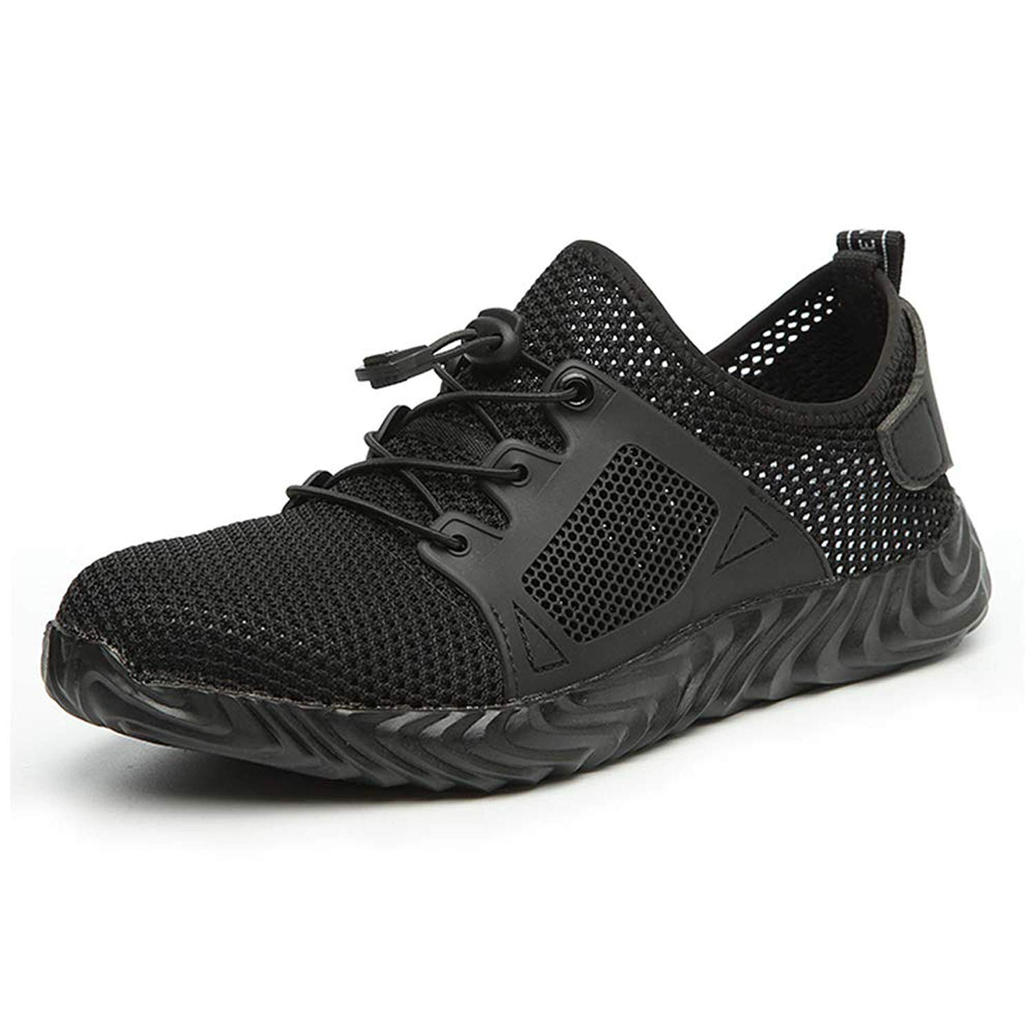 UCAYALI Steel Toe Work Shoes for Men Women Breathable Lightweight Safety Sneakers Construction Footwear