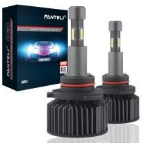 FANTELI 9005/HB3 LED Headlight Bulbs, 10000K-12000K Deep Blue, 72W 12000 Lumens Super Bright Cool LED Headlights Conversion Kit IP68 Waterproof, Pack of 2