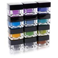 SHANY Smudge Proof Gel Eyeliner Set - Set of 12 Colors - Masquerade