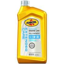 Pennzoil 550053470 Extended Care Full Synthetic 5W-30 Motor Oil, 1 Quart, 6 Pack
