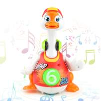 Musical Baby Toys, Walking Talking Dancing Hip Hop Goose Musical Educational Funny Toys for Kids or Toddlers - Gift for 1 2 3 4 5 Year Old Boy or Girl