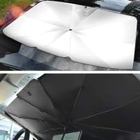 Windshield Sun Shade for Car Sunshade Umberlla, Keep Your Vehicle Cool and Protect The Equipment in The Car from Exposing a Must-Have Choice for Outdoor Parking (5631)