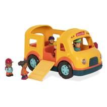 Battat – Light & Sound School Bus – School Bus Toy Vehicle for Toddlers 18 Months + (6Pc), Model:BT2657Z