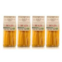 Morelli Gluten Free Corn Pasta - Organic Linguine Pasta from Italy - 8.8 oz (pack of 4)