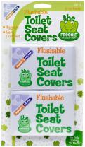 Mommy's Helper Flushable Toilet Seat Covers, White