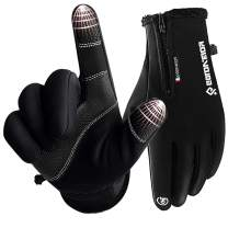 DONWELL Winter Gloves Touchscreen Thermal Waterproof Gloves