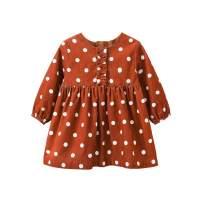 pureborn Baby Girl Long Sleeve Cute Princess Dress Outfit